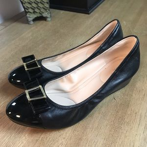 COLE HAAN Grand 0S Emory Bow Wedge